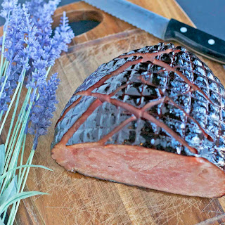 Lavender Honey Easter Ham.