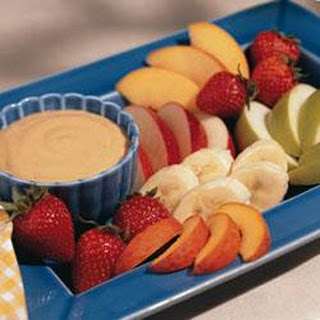 Peanut Butter Fruit Dip.