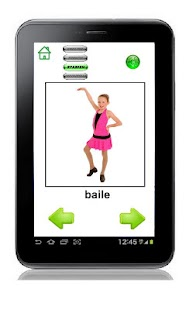 First English Action Words screenshot