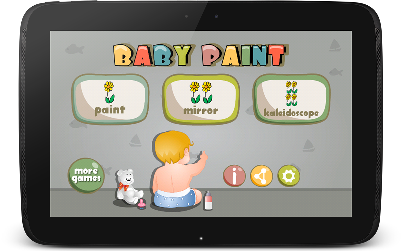 Kidoko baby paint free android apps on google play for Google paint online