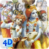4D Krishna Live Wallpaper