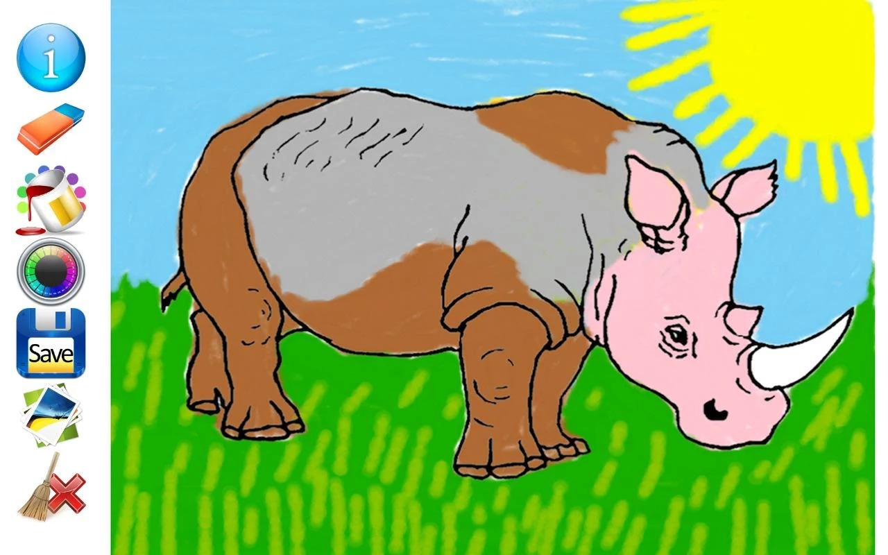 animals coloring pages android apps on google play