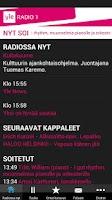 Screenshot of Yle Radio 1