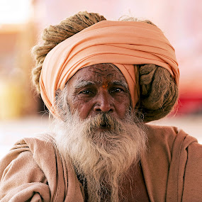 Portrait of a wise man by Marco Parenti - People Portraits of Men ( indian, people, man, portrait )