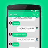 EvolveSMS Theme Green Rounds