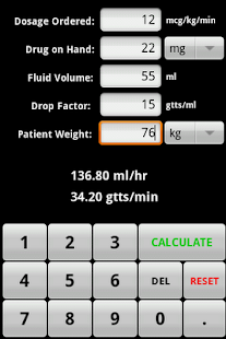 InfusionCalc - screenshot thumbnail