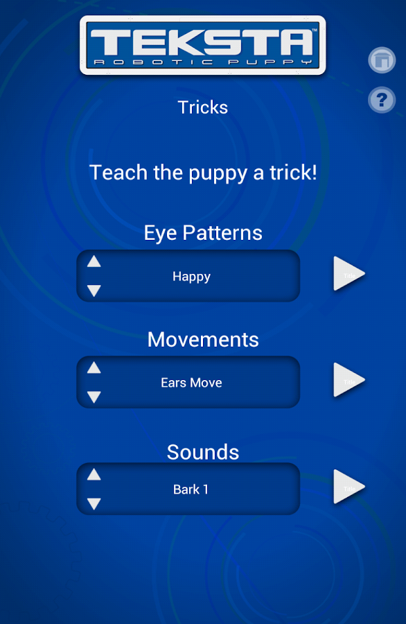 Tekno/Teksta App- screenshot