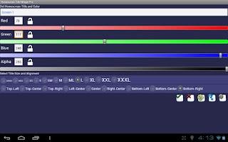 Screenshot of Home Screen Title Widget Pro