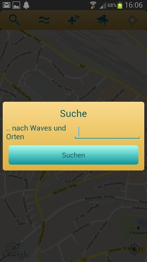 geosurfen beta- screenshot