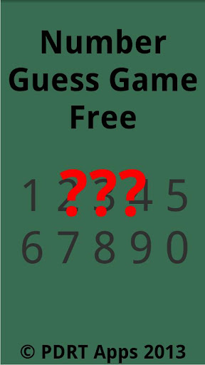 Number Guess Free