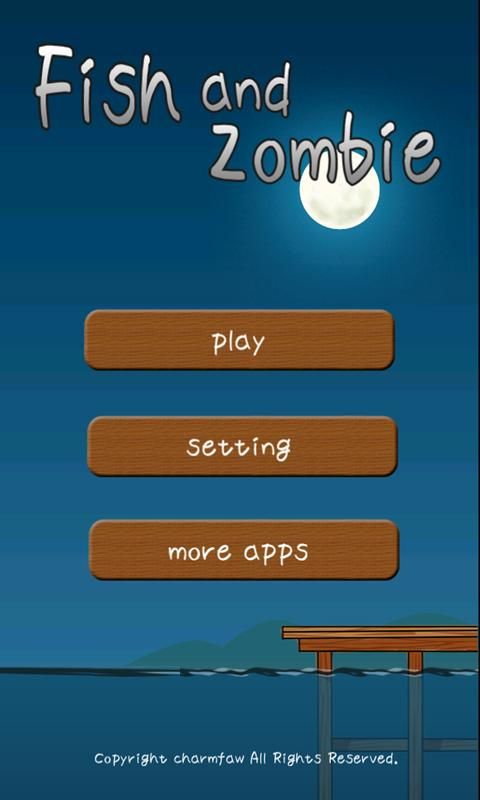 Fish and Zombie- screenshot