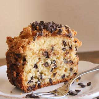 Chocolate Chip Crumb Cake.