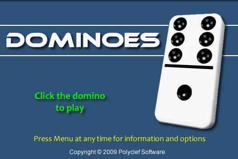 Dominoes- screenshot