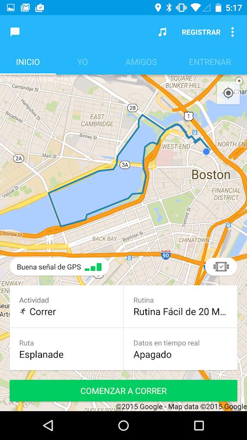 RunKeeper - GPS Correr Caminar - screenshot