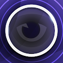 Ninja Blue Glow GO Theme icon