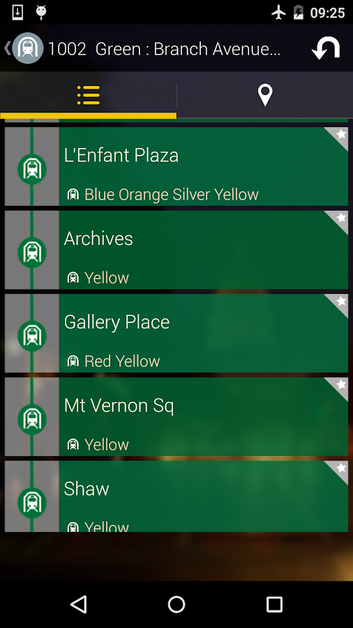 Washington DC Moves: Bus Metro- screenshot