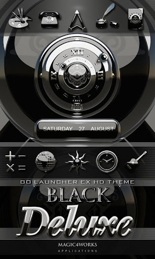 3d black deluxe go theme v1 0 paid apk download apk for Home design 3d paid version apk