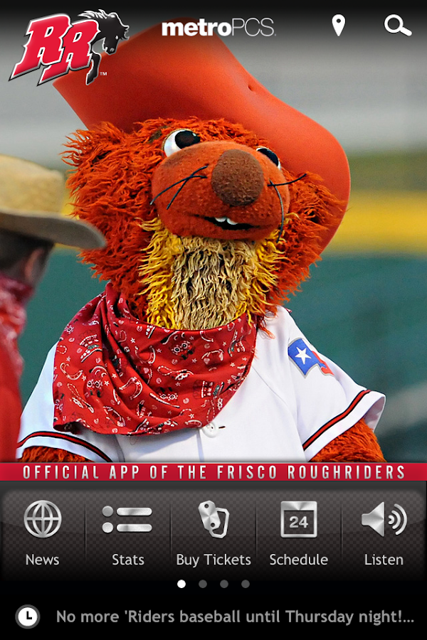Frisco RoughRiders Baseball- screenshot