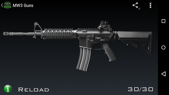 Guns for MW3: miniatura da captura de tela