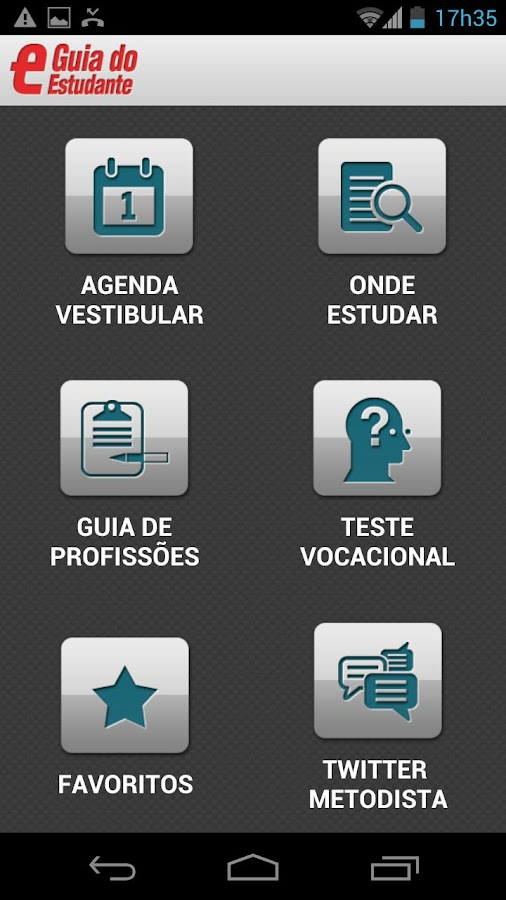 Guia do Estudante - screenshot