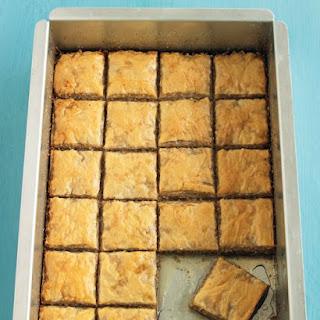 Cinnamon-Walnut Baklava.