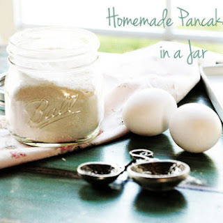 Homemade Pancake Mix in a Jar.