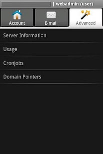 WebAdmin Mobile Lite - screenshot thumbnail