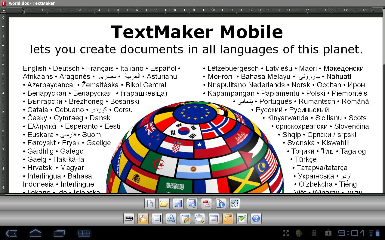 Office 2012: TextMaker TRIAL - screenshot