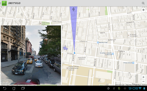 Instago Street View Navigation Screenshot 8