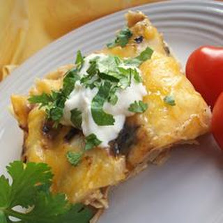 Easy Chile Chicken Enchilada Casserole