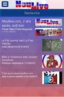 Screenshot of NouLive