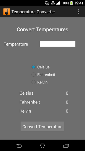 Temperature Converter Easy