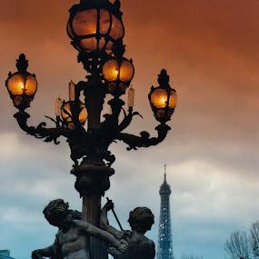 Paris by Steve Cooke - City,  Street & Park  Street Scenes (  )