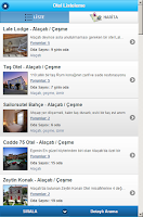 Screenshot of Küçük ve Butik Oteller