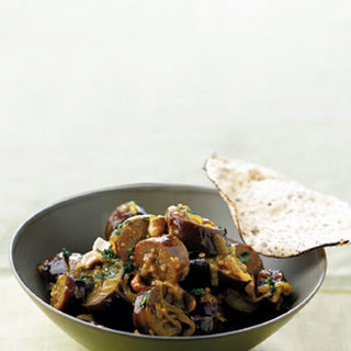 Curried Eggplant.