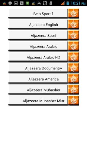 Aljazeera Transponders