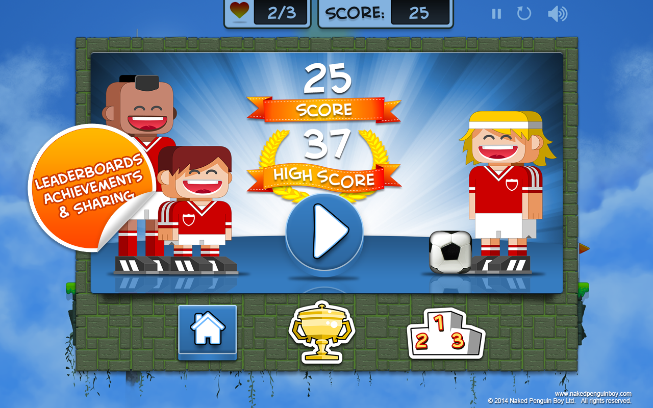 Miniball Tap Football- screenshot