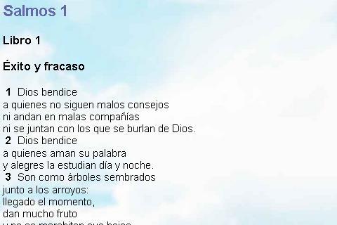 Biblia Lenguaje Sencillo- screenshot