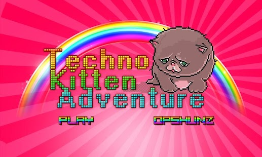 Techno Kitten Adventure - screenshot thumbnail