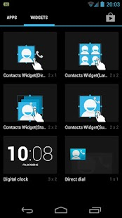 Resizable Contacts Widget Pro- screenshot thumbnail