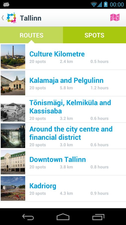 CultureWalks- screenshot