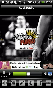 Rock Radio CZ- screenshot thumbnail