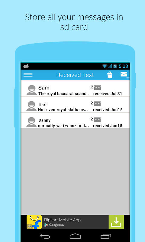 Jumbo SMS- screenshot