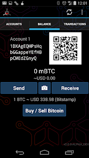 Mycelium Bitcoin Wallet - screenshot thumbnail