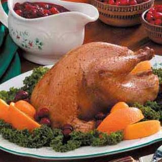Pheasant with Cranberry Sauce
