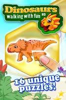 Screenshot of Dinosaurs walking with fun XL