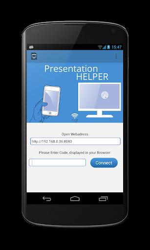 presentation helper