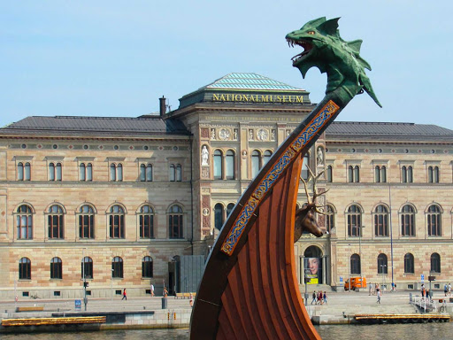 The National Museum in Stockholm, Sweden.