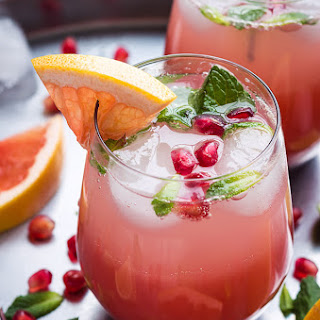 Ingredients List For The Grapefruit Margarita