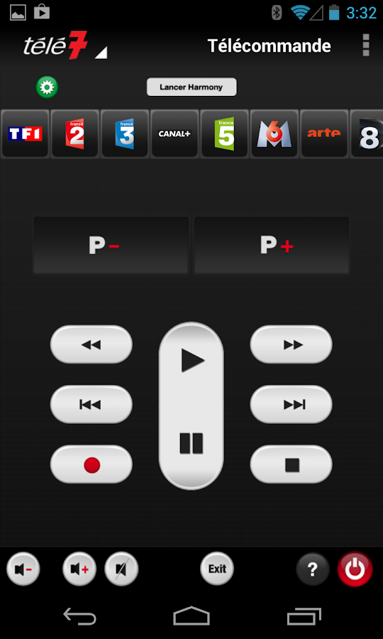 how to add harmony android tv spotify